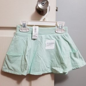 Old Navy Mint Skirt 12-18mo